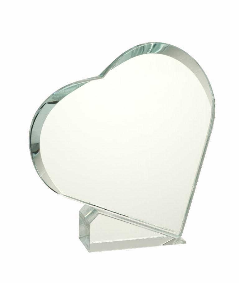 Statuetka szklana serce
